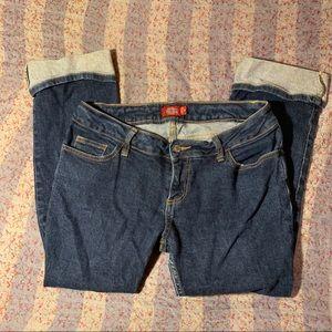 Juniors Misses Dickies Ankle Skinny Jeans